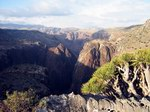 Каньон Wadi Dirhur сверху