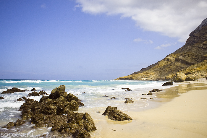 Сокотра пляжи