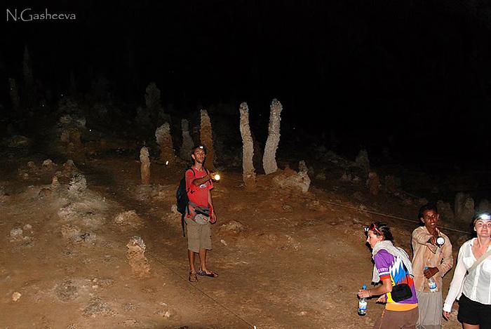 Новый год в пещере