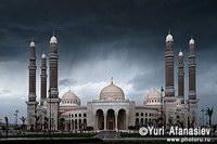Новая  мечеть в Сане,  Йемен