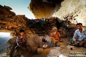 Жилая пещера  на Сокотре