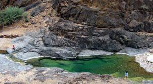 Dirhur canyon, Socotra, Yemen
