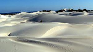 Песчаные дюны на Сокотре