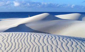 Sand dunes in Noget, Socotra, Yemen