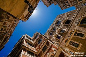 Старый  город в Сане, Йемен