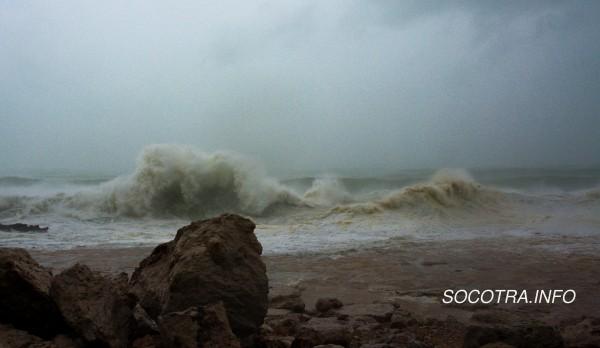 Storm on Socotraе