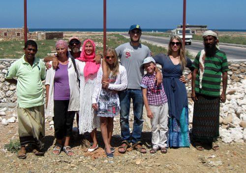 Семейный отдых на острове Сокотра