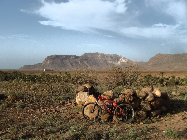 Bicycle on Socotra